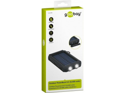 Power Bank Goobay LATARKA Solarny IP45 8000mAh