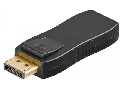 Adapter gn. HDMI - wt. DisplayPort blokada SPD-H02