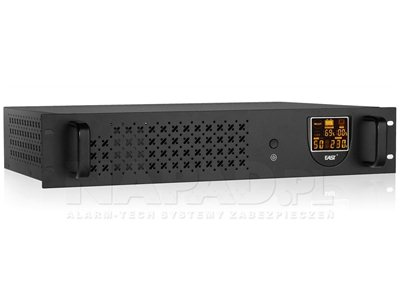 Zasilacz East AT-UPS650R offline RACK LCD